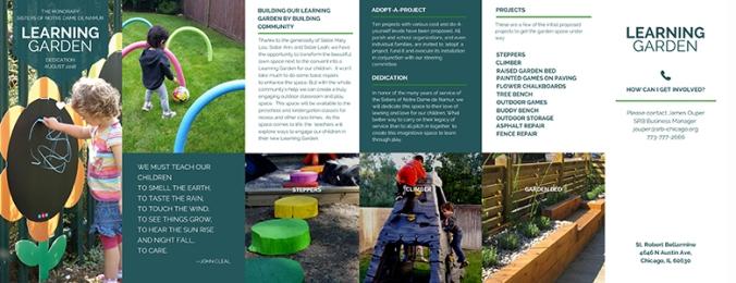 Learning Garden Brochure