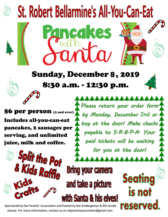 Pancakes with Santa December 8th-1