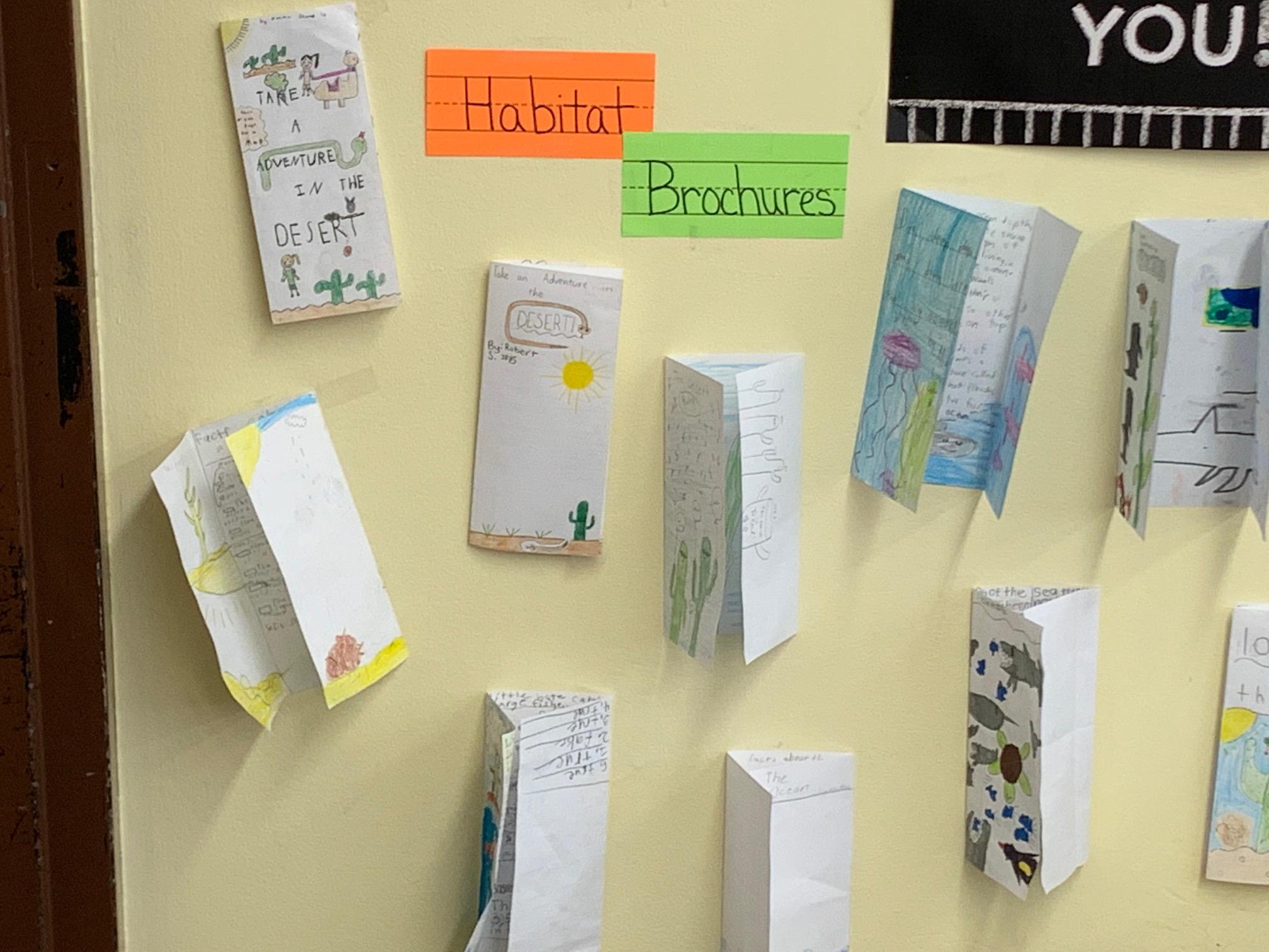 Habitat Brochures