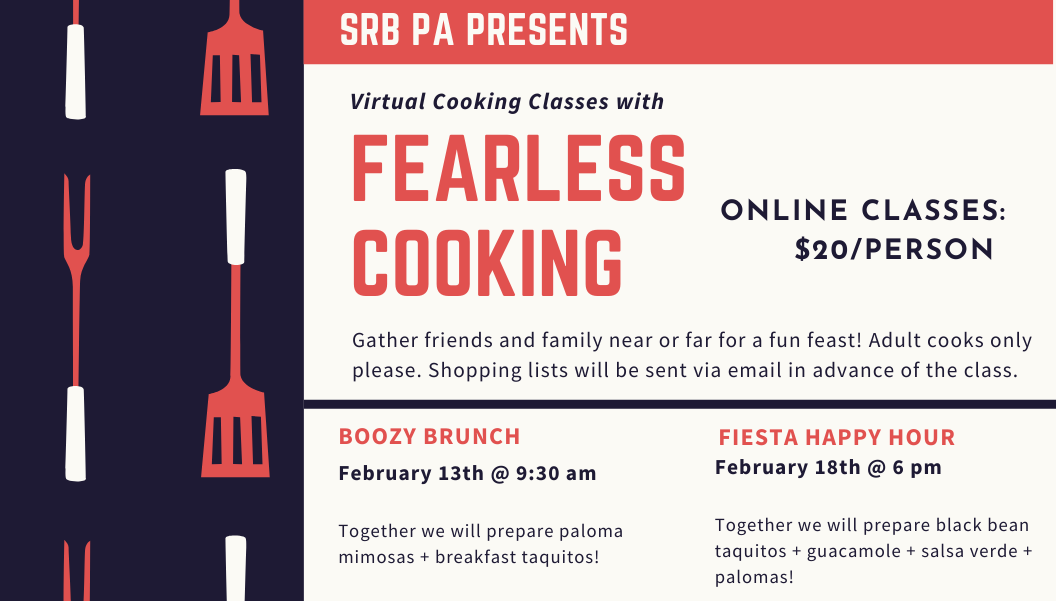 Fearless Cooking Events